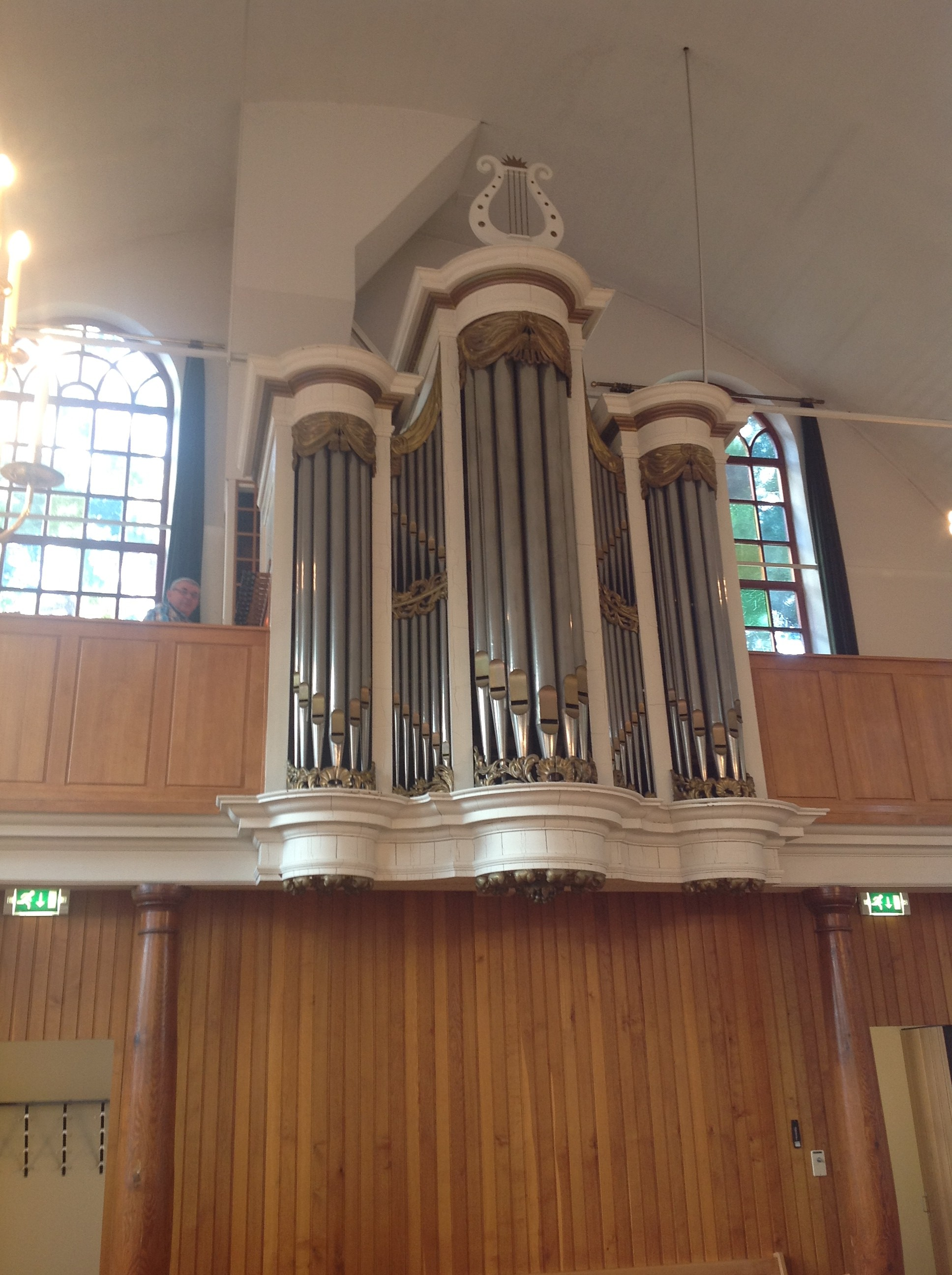Van Loo in Lutten, Ab is hier organist