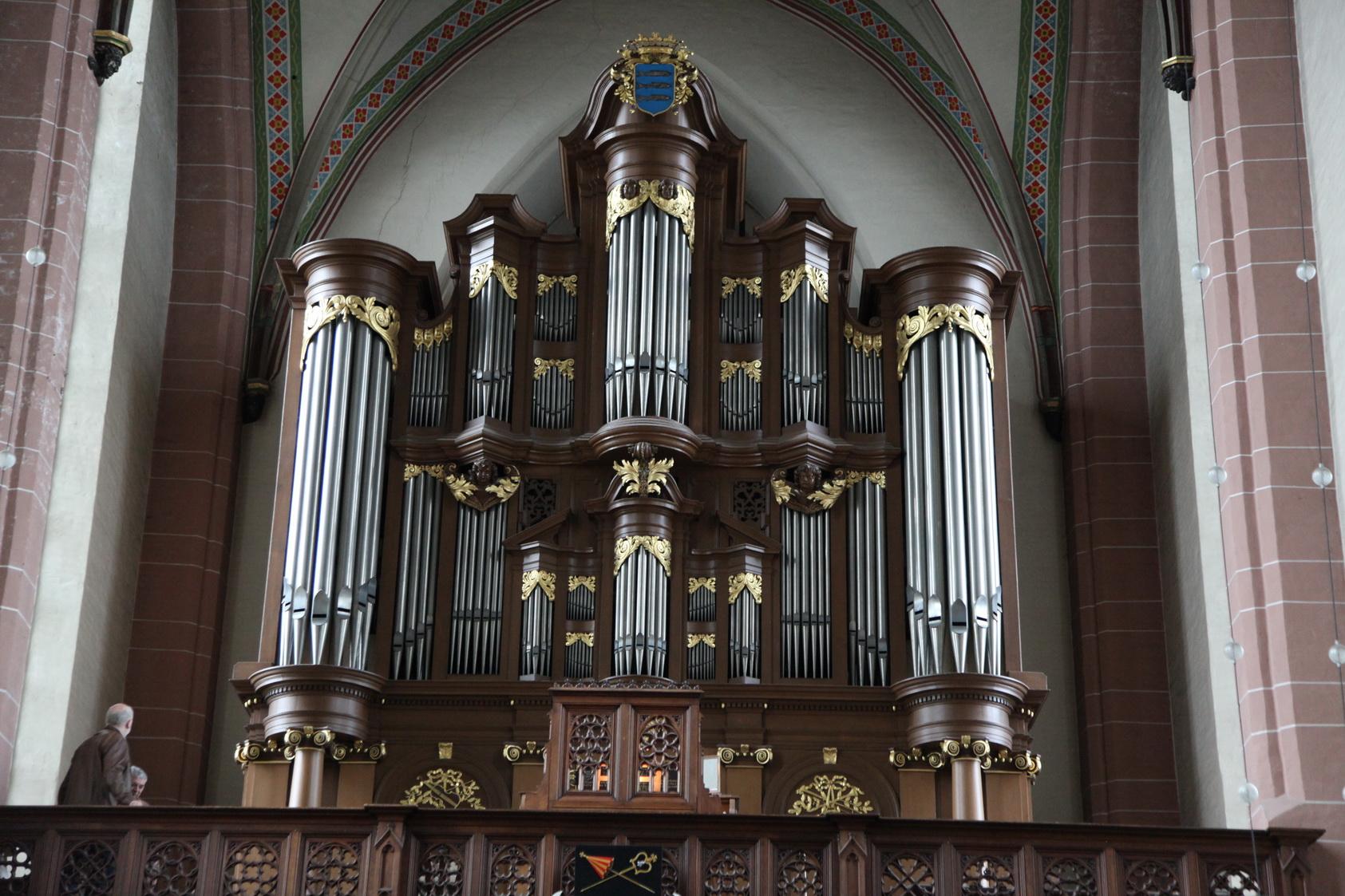 Het Maarschalkerweerdorgel (1896) in de OLV Basiliek in Zwolle