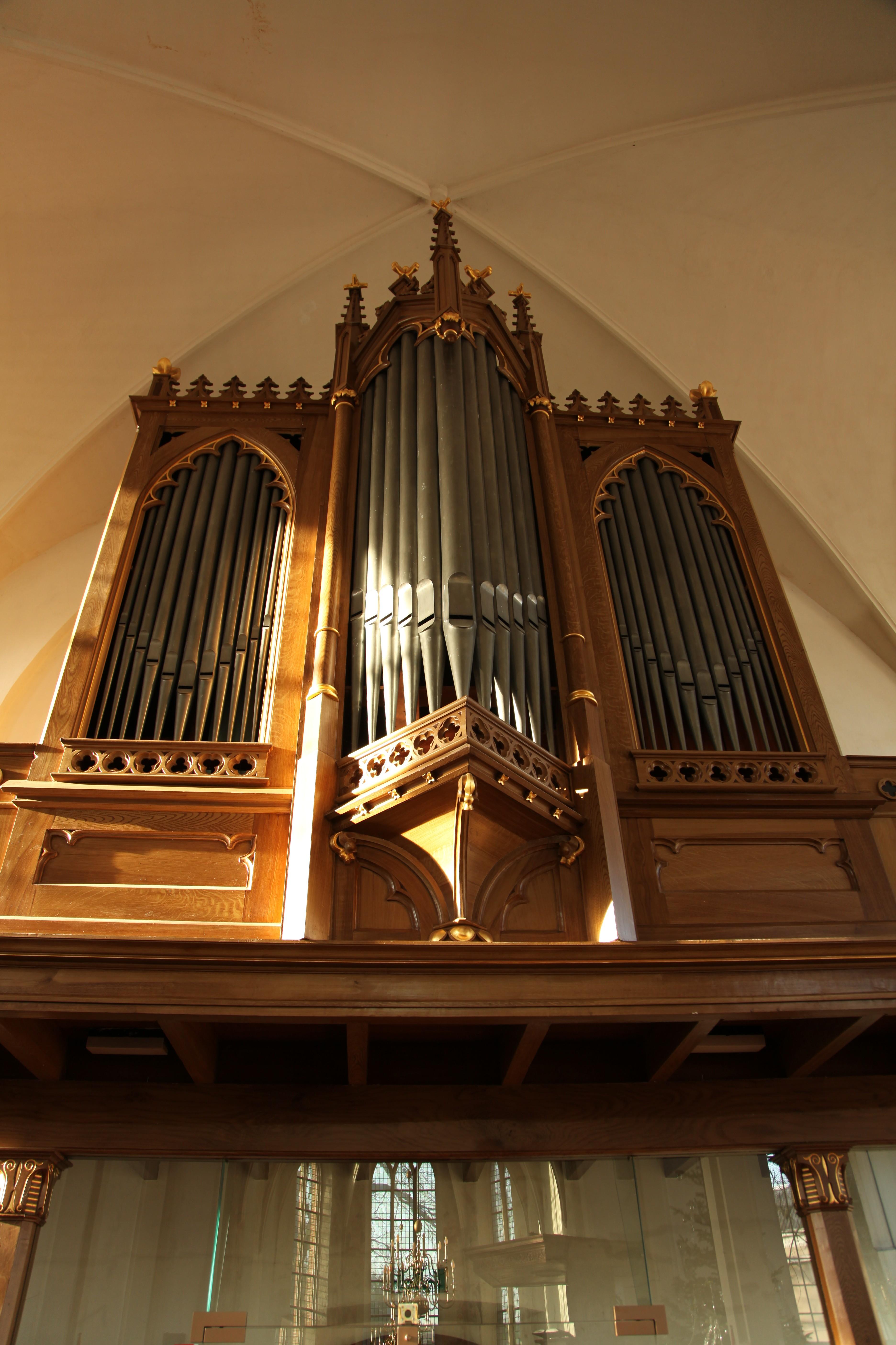 Het Hermannus Gerhardus Holtgräve-orgel uit 1876 in de Dorpskerk in Bathmen
